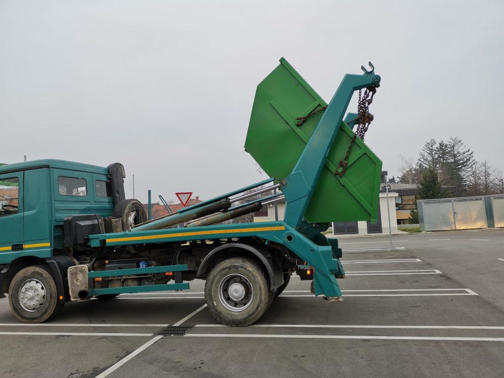 Kontejneri za odvoz šuta Beograd